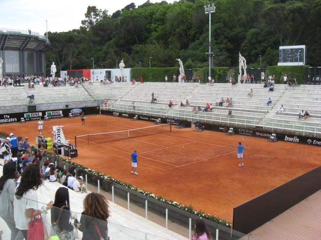 la mia roma personale internazionali di tennis al foro italico allaricercadelviaggioperduto. Black Bedroom Furniture Sets. Home Design Ideas
