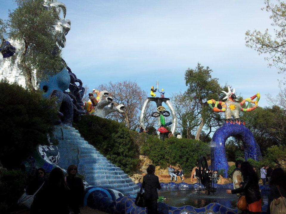 Il giardino dei tarocchi allaricercadelviaggioperduto - Giardino dei tarocchi capalbio ...