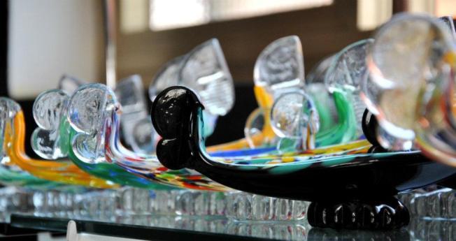 gondole di vetro murano