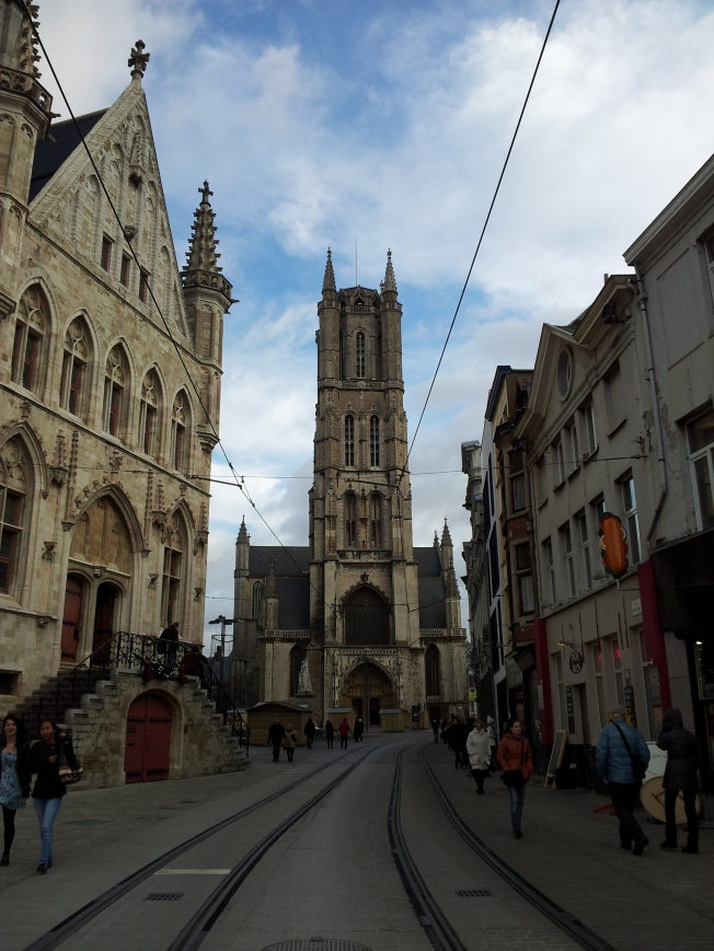torre chiesa di san bavone gand